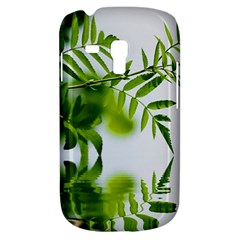 Leafs With Waterreflection Samsung Galaxy S3 Mini I8190 Hardshell Case by Siebenhuehner