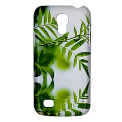 Leafs With Waterreflection Samsung Galaxy S4 Mini Hardshell Case  by Siebenhuehner