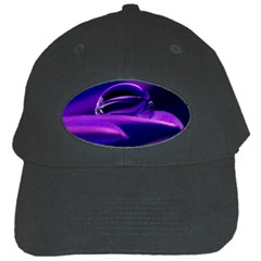 Waterdrop Black Baseball Cap
