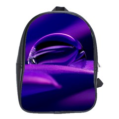 Waterdrop School Bag (Large) by Siebenhuehner