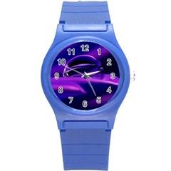 Waterdrop Plastic Sport Watch (small) by Siebenhuehner