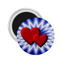 Love 2 25  Button Magnet by Siebenhuehner