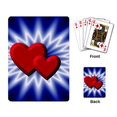 Love Playing Cards Single Design by Siebenhuehner