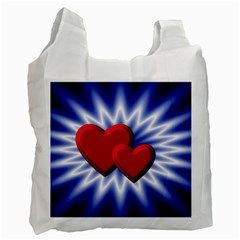 Love Recycle Bag (one Side) by Siebenhuehner