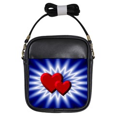 Love Girl s Sling Bag by Siebenhuehner