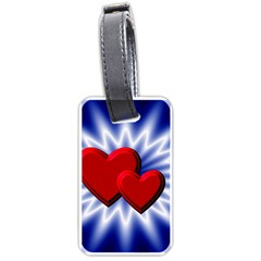 Love Luggage Tag (two Sides) by Siebenhuehner