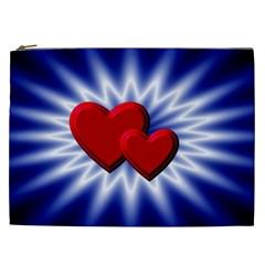 Love Cosmetic Bag (xxl) by Siebenhuehner
