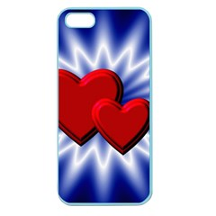 Love Apple Seamless Iphone 5 Case (color) by Siebenhuehner