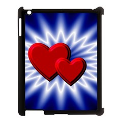Love Apple Ipad 3/4 Case (black) by Siebenhuehner