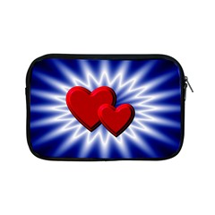 Love Apple Ipad Mini Zipper Case by Siebenhuehner
