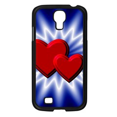 Love Samsung Galaxy S4 I9500/ I9505 Case (black) by Siebenhuehner