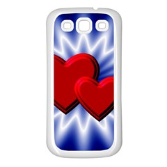 Love Samsung Galaxy S3 Back Case (white) by Siebenhuehner
