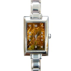 Field Rectangular Italian Charm Watch by Siebenhuehner