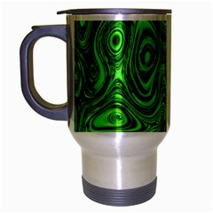Modern Art Travel Mug (silver Gray) by Siebenhuehner