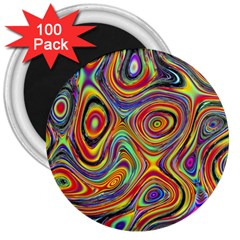 Modern  3  Button Magnet (100 Pack) by Siebenhuehner