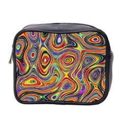 Modern  Mini Travel Toiletry Bag (two Sides) by Siebenhuehner