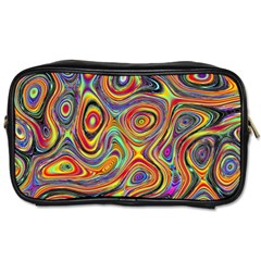 Modern  Travel Toiletry Bag (two Sides) by Siebenhuehner