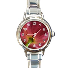 Poppy Round Italian Charm Watch by Siebenhuehner
