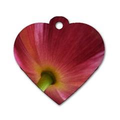 Poppy Dog Tag Heart (two Sided) by Siebenhuehner
