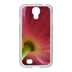 Poppy Samsung Galaxy S4 I9500/ I9505 Case (white) by Siebenhuehner