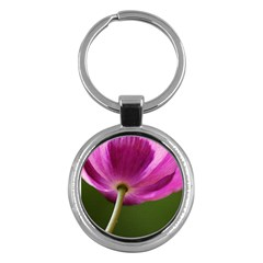 Poppy Key Chain (round) by Siebenhuehner