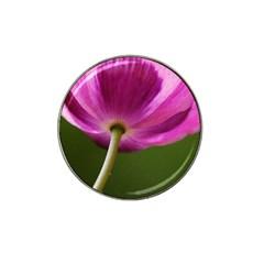 Poppy Golf Ball Marker (for Hat Clip)