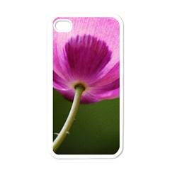 Poppy Apple Iphone 4 Case (white) by Siebenhuehner