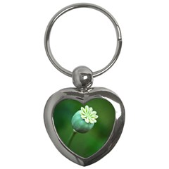 Poppy Capsules Key Chain (heart) by Siebenhuehner