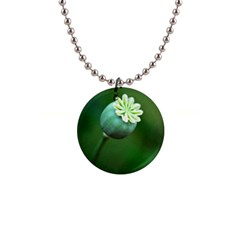 Poppy Capsules Button Necklace