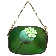 Poppy Capsules Chain Purse (one Side)