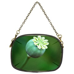 Poppy Capsules Chain Purse (two Sided)