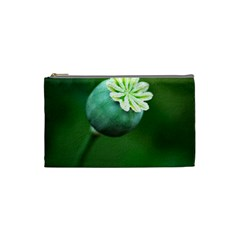 Poppy Capsules Cosmetic Bag (small) by Siebenhuehner