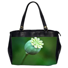 Poppy Capsules Oversize Office Handbag (two Sides)