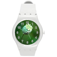 Poppy Capsules Plastic Sport Watch (medium)