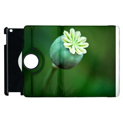 Poppy Capsules Apple Ipad 3/4 Flip 360 Case