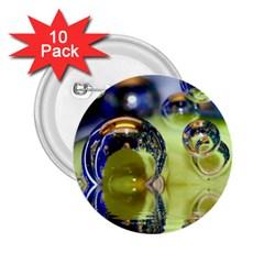Marble 2 25  Button (10 Pack) by Siebenhuehner