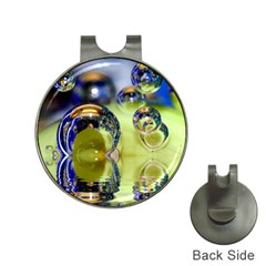 Marble Hat Clip With Golf Ball Marker