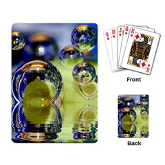 Marble Playing Cards Single Design