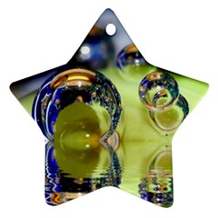 Marble Star Ornament (two Sides)