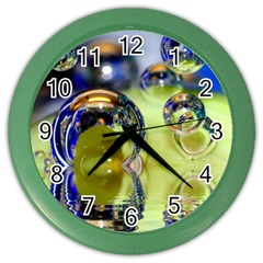 Marble Wall Clock (color)