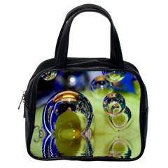 Marble Classic Handbag (one Side)