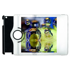 Marble Apple Ipad 2 Flip 360 Case by Siebenhuehner
