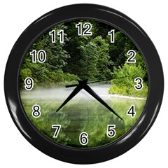 Foog Wall Clock (black) by Siebenhuehner