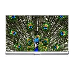 Peacock Business Card Holder by Siebenhuehner
