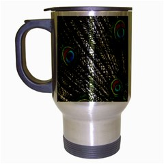 Peacock Travel Mug (silver Gray)