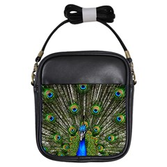 Peacock Girl s Sling Bag
