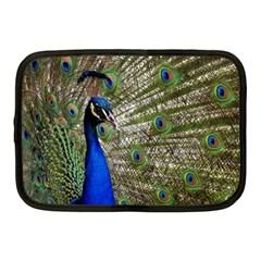 Peacock Netbook Case (medium) by Siebenhuehner