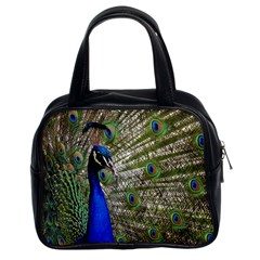 Peacock Classic Handbag (two Sides) by Siebenhuehner
