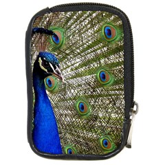 Peacock Compact Camera Leather Case by Siebenhuehner