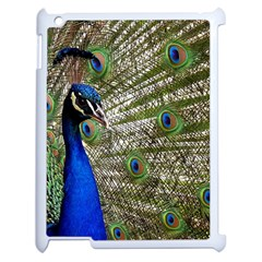 Peacock Apple Ipad 2 Case (white) by Siebenhuehner